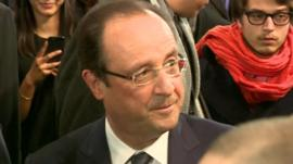 President of France, François Hollande