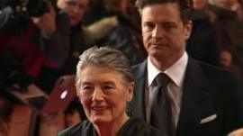 Patti Lomax and Colin Firth
