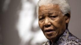 Nelson Mandela in 2003