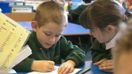 School children in Basingstoke