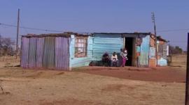 A home in the black settlement of Goedegevonden