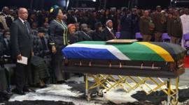 Nelson Mandela's funeral in Qunu