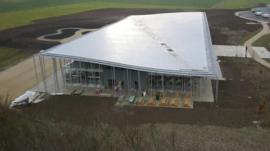The new £27m visitor centre at Stonehenge