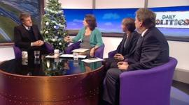 Daily Politics panel debating airports