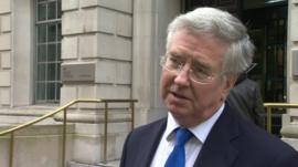 Energy Minister Michael Fallon