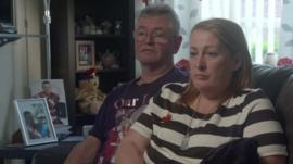 Ian and Lyn Rigby, parents of Lee Rigby