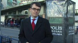 James Reynolds reports from outside Istanbul police headquarters