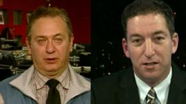 David Rivkin and Glenn Greenwald