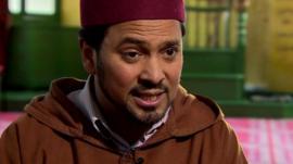 Imam at Goodge Street Mosque, Ajmal Masroor