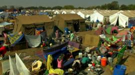 Juba's UN camp for civilians displaced in South Sudan