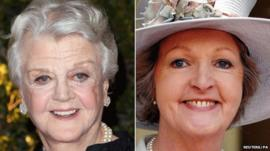 Angela Lansbury and Penelope Keith