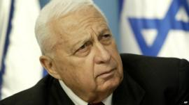 Former Israeli Prime Minister Ariel Sharon