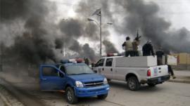 Al-Qaeda fighters in Fallujah