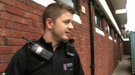 Slough police using the cameras last summer