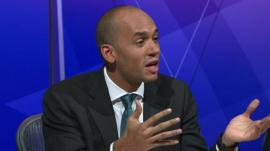 Shadow Business Secretary Chuka Umunna on Question Time