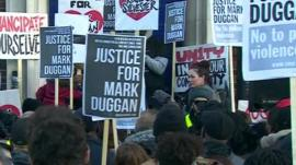 Vigil for Mark Duggan