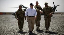 Robert Gates in Afghanistan