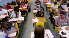 adult leaner classroom