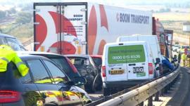 Sheppey crossing crash