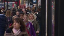 People on Oxford Street