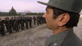 The Afghan police's rapid reaction force