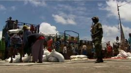 Somali port