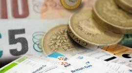 Money and bills