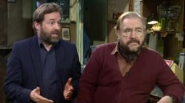 Ardal O'Hanlon and Brian Cox on The Weir