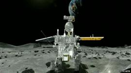 China's moon rover 'Jade Rabbit'