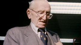 Austrian economist Friedrich Hayek