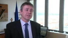 Dr Chris Wild, director of the WHO's International Agency for Research on Cancer