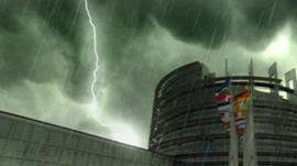 Eurozone storm graphic