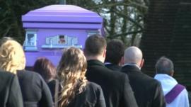 Jayden Parkinson's funeral