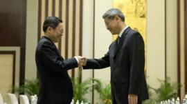 Wang Yu-chi and Zhang Zhijun