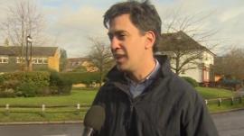 Labour leader Ed Miliband