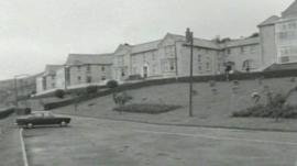 Llwynypia hospital - once the largest hospital in the Rhondda