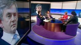 Daily Politics panel debates Gordon Brown
