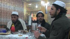 Former Bagram prisoners