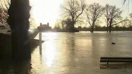 Floods in Windsor