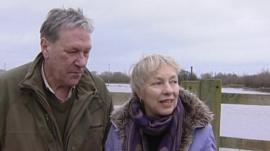 Tim Bentinck and Felicity Finch