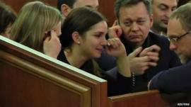 Yulia Tymoshenko's daughter Eugenia