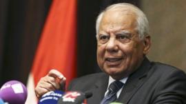 Hazem Beblawi (file)