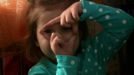 Child in Ukraine