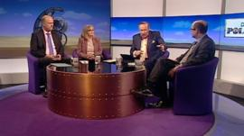 Chris Grayling, Margaret Curran, Andrew Neil and Nick Robinson