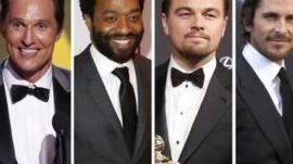 Matthew McConaughey, Chiwetel Ejiofor, Leonardo DiCaprio, Christian Bale