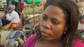 Woman in Uganda
