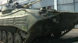 Russian forces across the border are ready for action