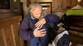Moorland residents return home