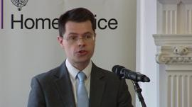 Tory immigration minister James Brokenshire
