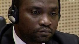 Former Congo militia leader Germain Katanga